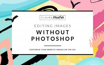 Editing images for your site and social shares, without Photoshop