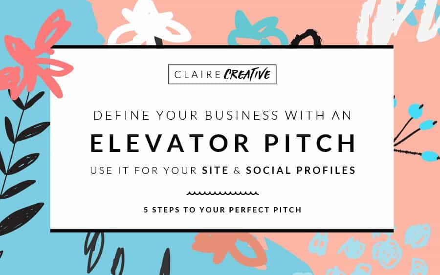 """""""So, what do you do?"""" 5 steps to your perfect elevator pitch"""