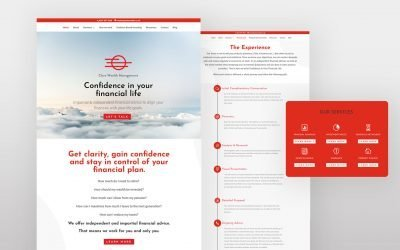 2 Weeks to Launch: Building a Financial Advisor website