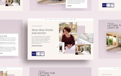 Architect website stands out from competitors